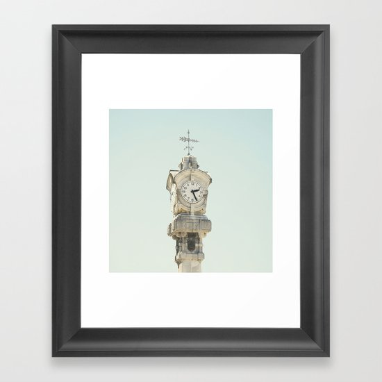 02.26 pm Framed Art Print