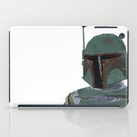boba iPad Cases featuring Boba Fett by Hey!Roger