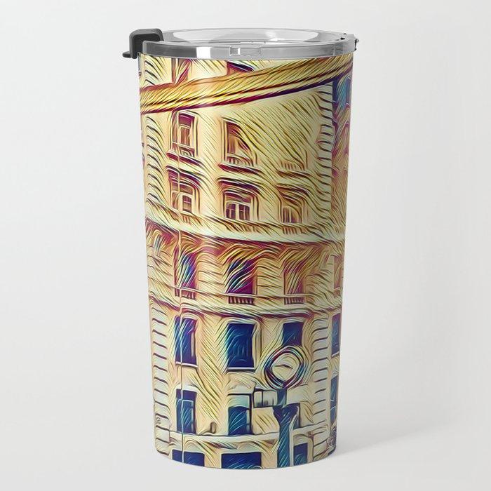Sao Paulo - Pop Art 003 Travel Mug