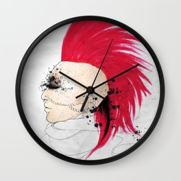 Fierce Angel Wall Clock