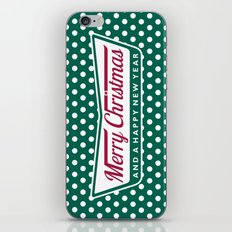 Have A Merry Krispy Christmas iPhone Skin