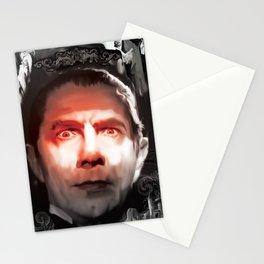 """Dracula Bela Lugosi """"Look Into My Eyes"""" Stationery Cards"""