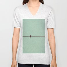 On the Wire Unisex V-Neck