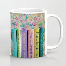 Jane Austen Library Coffee Mug