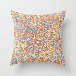 Sunshine Sharpies Throw Pillow