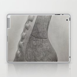 Depiction of the Right Lung B&W Laptop & iPad Skin