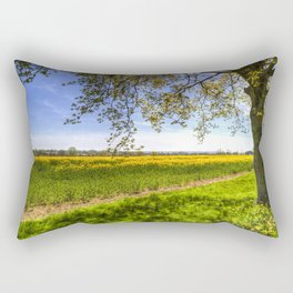 The Daffodil Summer Farm Rectangular Pillow