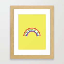 Rainbow Dreams Framed Art Print