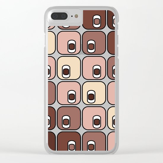 Ace high Clear iPhone Case