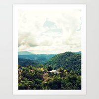 jamaica Art Prints featuring Jamaica  by Matthew Ingraham