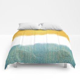Teahupo'o, sea and sand Comforters