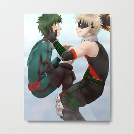 Cute Boys Metal Print