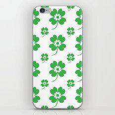 lucky flower iPhone & iPod Skin