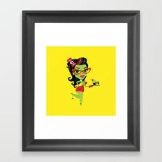 Bettie Bakes a Doomcake Framed Art Print