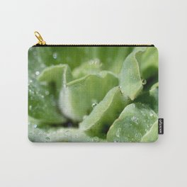 Waterlogged Leaves Carry-All Pouch