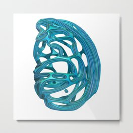 Abstract 3D Metal Print