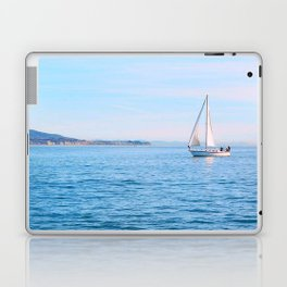 Blue Sailing Laptop & iPad Skin