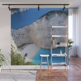 Shipwreck Beach - Navagio, Zakynthos, Greece Wall Mural