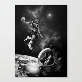 NBA LIVE ! Canvas Print