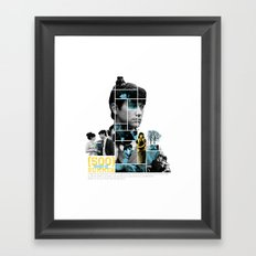 500 Days of Summer - Mosaic Poster Framed Art Print