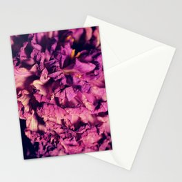 dry purple flower - 2nd Stationery Cards