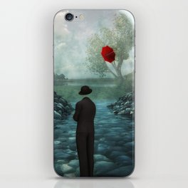 Flying Umbrella iPhone Skin