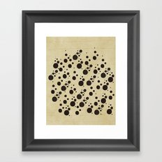 Ink Spots Framed Art Print
