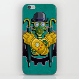 The League of Steam Gentlemen iPhone Skin