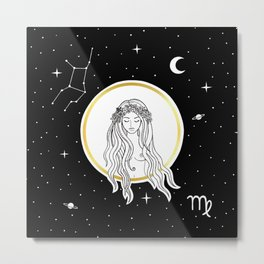 Virgo [Horoscope Collection] Metal Print