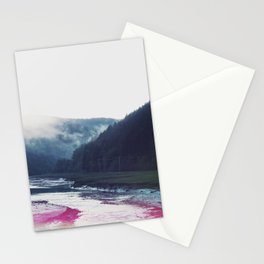 Low Tide in the Valley Stationery Cards