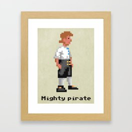 Mighty Pirate Framed Art Print