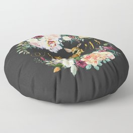 Always - Fawn - Gold/Charcoal Floor Pillow
