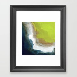 Surf Abstraction Framed Art Print