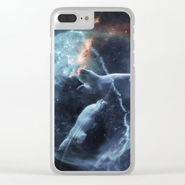 URSA major and Minor Clear iPhone Case