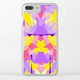 Violet violent Clear iPhone Case