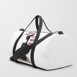 Nobody said it was easy Duffle Bag