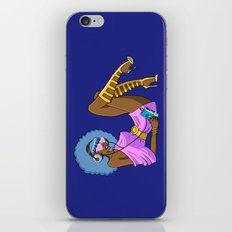 Funky Retro Girl iPhone & iPod Skin