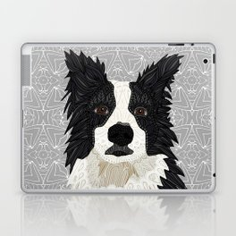 Beautiful Border Collie Laptop & iPad Skin