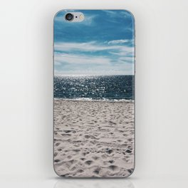 Man by the sea iPhone Skin