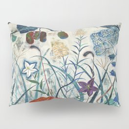 nature【Japanese painting】 Pillow Sham