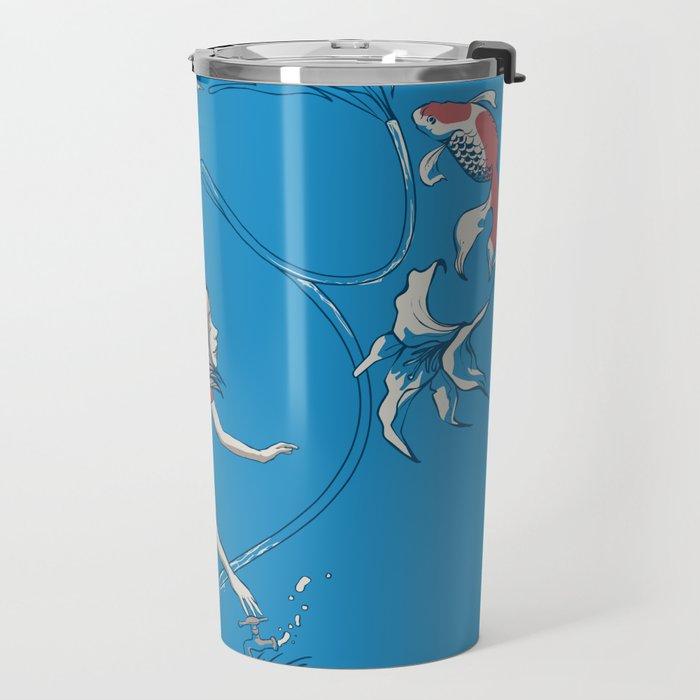 FISH AND WATER Travel Mug
