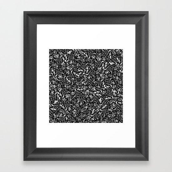 Seeds Framed Art Print