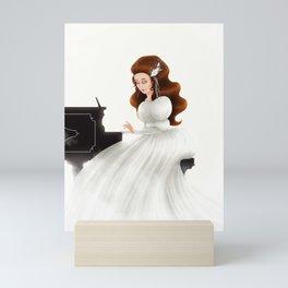 Liesl in Labyrinth Mini Art Print
