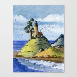Peaceful Lighthouse IV Canvas Print