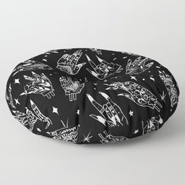 Floating Witchy Goth Hands Floor Pillow