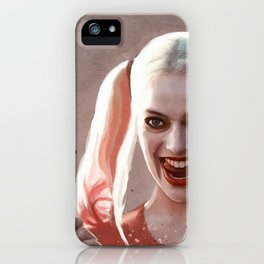 Harley Quinn The Homicidal Maniac - Suicide Squad iPhone Case