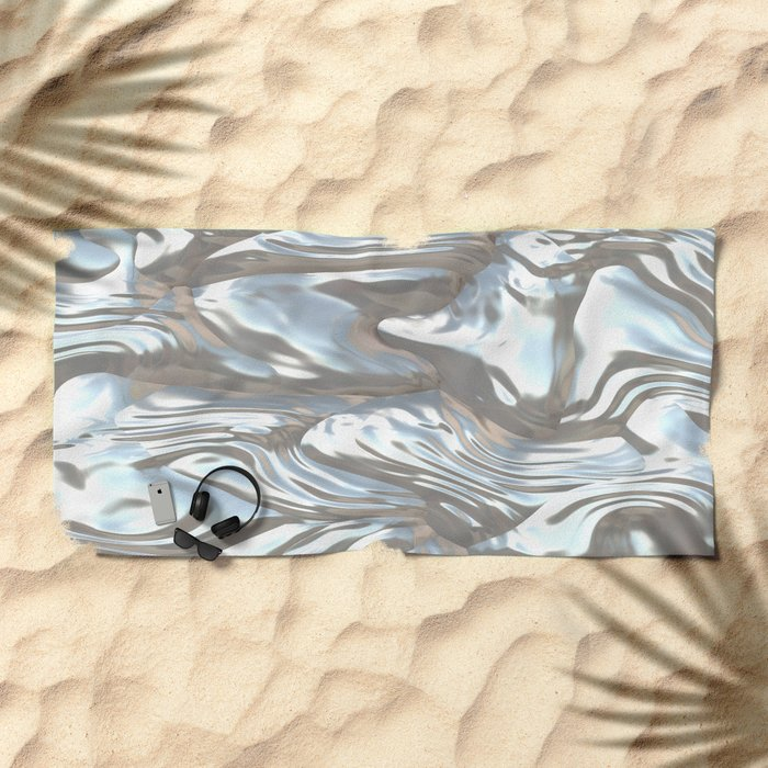 Mother of Pearl Beach Towel