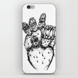 Cactus Flower iPhone Skin