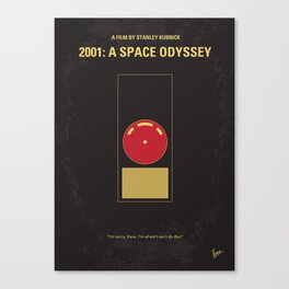 No003 My 2001 A space odyssey MMP Canvas Print