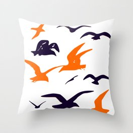 All they want to do is slay! Throw Pillow